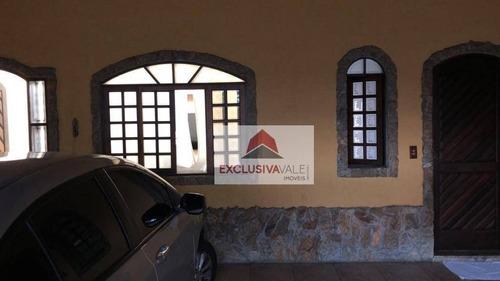 Casa Com 2 Dormitórios À Venda, 95 M² Por R$ 340.000,00 - Conjunto Residencial Trinta E Um De Março - São José Dos Campos/sp - Ca1024