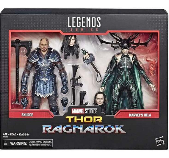 Marvel Legends 80th Anniversary Thor Ragnarok Skurge Y Hela