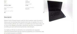 Laptop Dell Latitude 3460 R E M A T E !!!!!