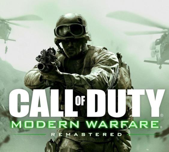 Call Of Duty Modern Warfare Remastered Pc -dvd (mid Fisica)