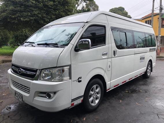Autobuses Microbuses Joylong Hkl6600c
