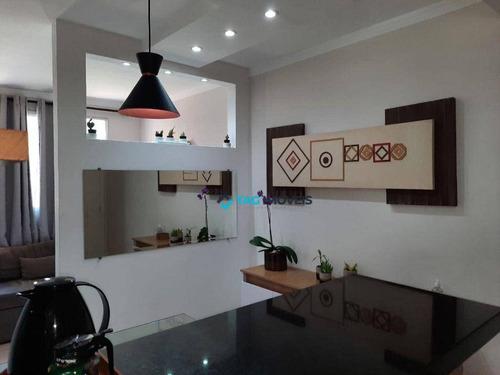 Apartamento Com 2 Dormitórios À Venda, 45 M² Por R$ 220.000,00 - Loteamento Parque São Martinho - Campinas/sp - Ap2475