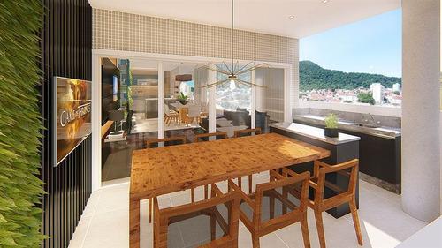 Imagem 1 de 13 de Apartamento - Venda - Forte - Praia Grande - Clon16