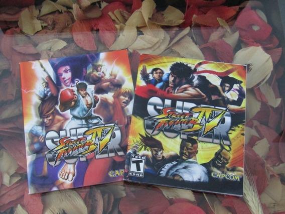 Livro Super Street Fighter Iv - Ps3