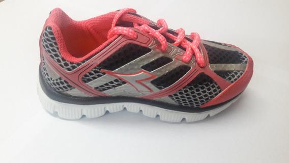 Zapatillas Diadora Shine Running Infantil Envios A Todo País