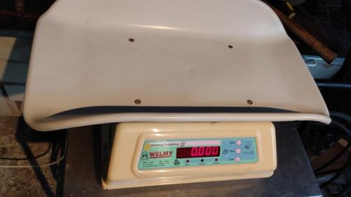 Balança Digital Infantil Bebê 109e Welmy 15kg Selo Inmetro