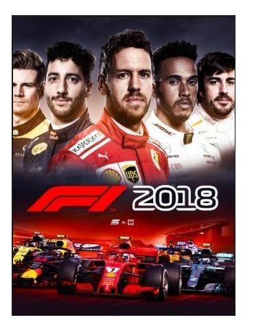 F1 2018 Headline Edition-pc-dvd(midia Fisica)