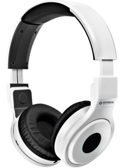 Headphone Mondial Branco