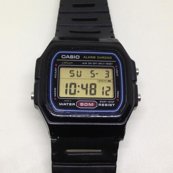 Relógio De Pulso Casio 50m Anos 80 U04705 Webclock