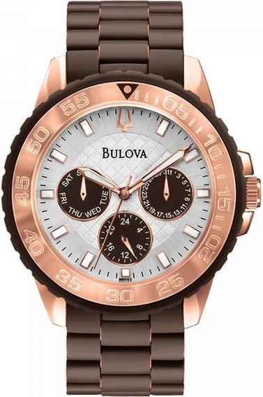 Relógio Bulova Masculino Analógico Wb31765r