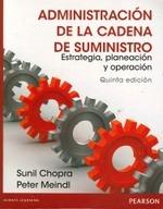 Administracion De La Cadena De Suministro (5ta.edicion)