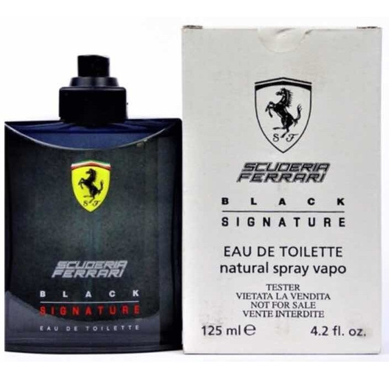 Ferrari Black Signature Edt 125ml - 100% Original