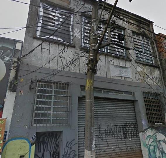 Galpão Em Brás, São Paulo/sp De 350m² Para Locação R$ 4.000,00/mes - Ga428602