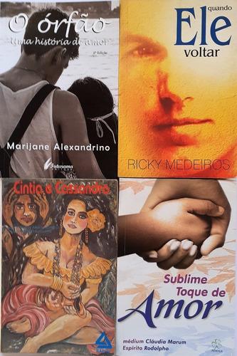 Espirita - Quando Ele Voltar+sublime Toque De Amor+ 2 Livros