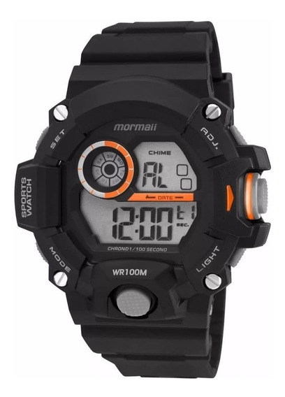 Relógio Masculino Digital Mormaii Mo3412/8l