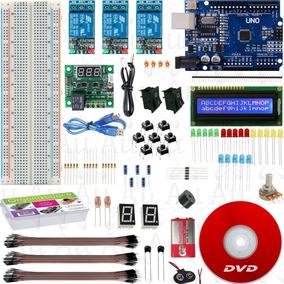 Kit Arduino Iniciante Automação Completo Com Dvd Videoaula