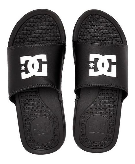Chinelo Slide Dc Shoes Bolsa Men Preto