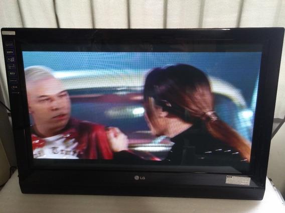 Tv LG 32pc5rv S/ Base Nao É Digital.