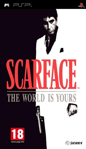Psp Scarface Money. Power. Respect - Novo - Lacrado