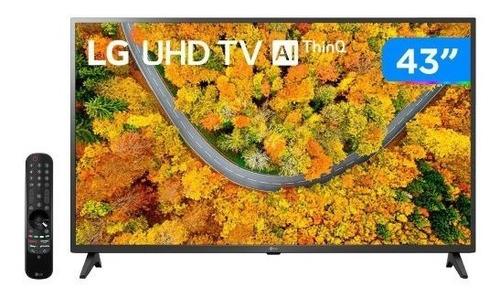 Imagem 1 de 5 de Smart Tv LG 43  Ultra Hd 4k Led 43up7500 Bluetooth Thinq Al