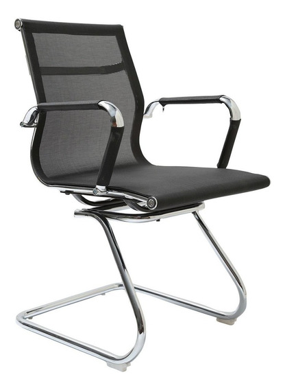 Cadeira Base Fixa Firenze Preta