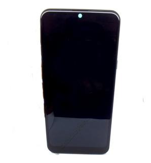 Lcd +touch +aro Lg X525 K12 Prime Azul 100% Original C/ Nf