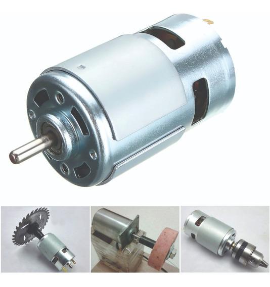Mini Motor 775 12v 10.000 Rpm Motor 775 Duplo Rolamento