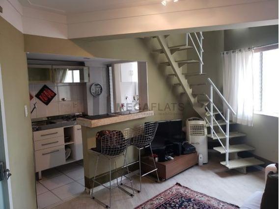 06345 - Flat 1 Dorm. (1 Suíte), Vila Nova Conceição - São Paulo/sp - 6345