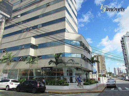 Excelente Sala Para Consultório Mobilada. No Centro De Itajaí - Sa0079