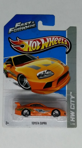 Hot Wheels Fast & Furious Toyota Supra Hw City 1:64