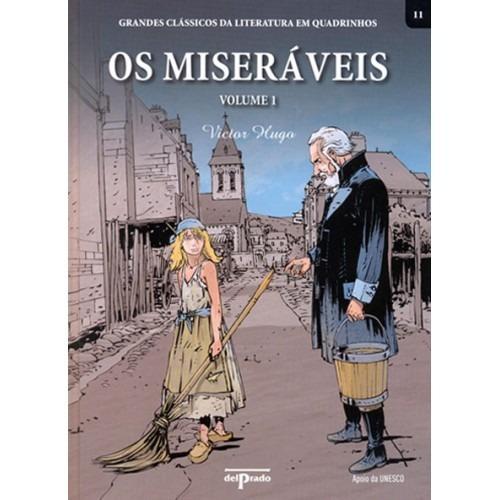 Livro Os Miseráveis - Vol. 1 Clássicos Da Literatura