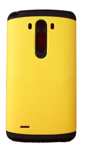 Protector Slim Armor + Vidrio Templado LG Optimus G4 Case