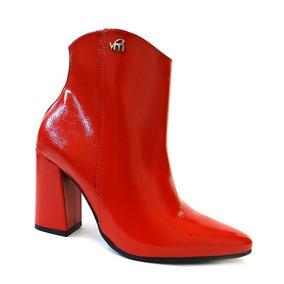 e68edce18 Bota Via Marte Vermelha - Calçados, Roupas e Bolsas no Mercado Livre ...