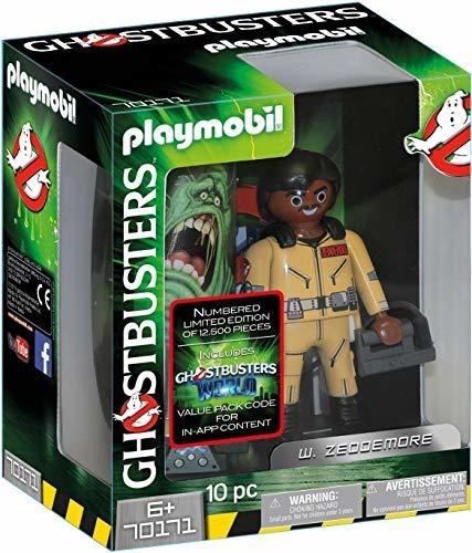 Playmobil Ghostbusters: Figura De Colección W. Zeddemore