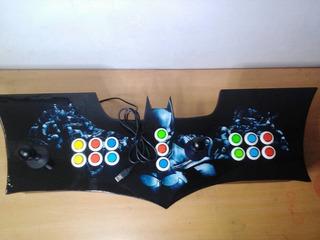 Tablero Arcade Batman + Usb Con 8 Mil Juegos Para Pc Y Lap