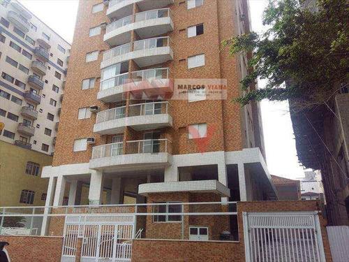 Apartamento À Venda, 75 M² Por R$ 250.000,00 - Tupi - Praia Grande/sp - Ap0643