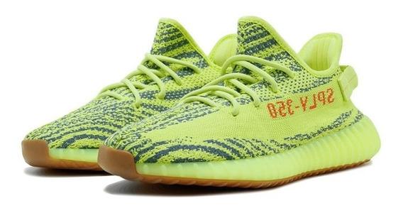 Tênis Yeezy Boost 350 V2 Verde Limão
