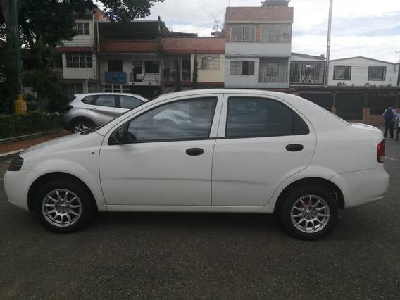 Chevrolet Aveo 2011 Blanco 5 Puertas