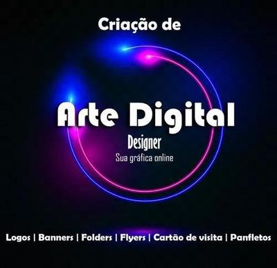 Arte Digital E Arte Final Para Impressos, Cartões De Visita.