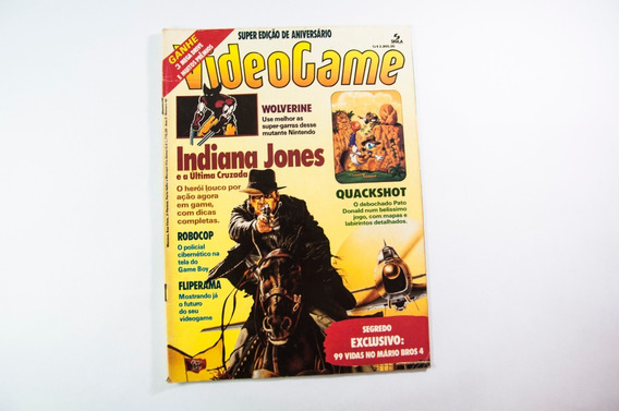 Revista Videogame, Ano 2, N. 10, Janeiro, 1992