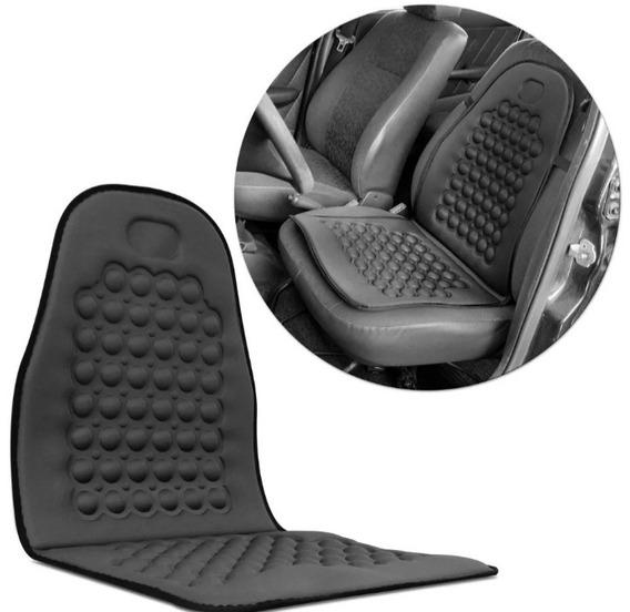 Capa Assento Massageador Encosto Carro Automotivo Universal