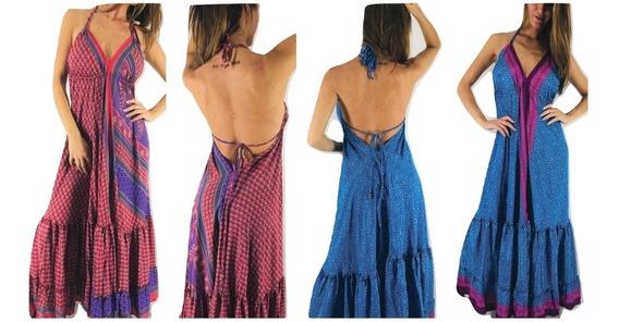 Vestido De Fiesta Noche Tipo Rapsodia Indya Style Importado