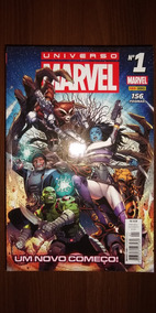 Hq Universo Marvel Coleção Completo 1 A 19 Panini