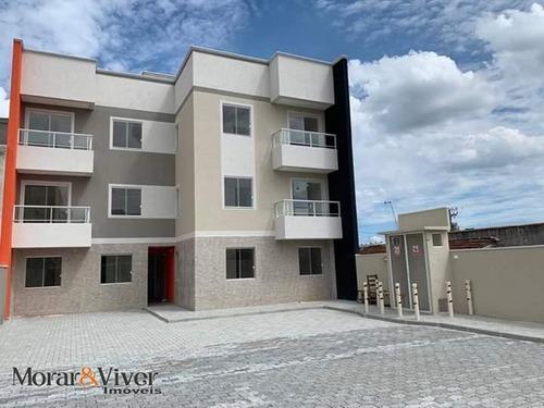 Imagem 1 de 15 de Apartamento Para Venda Em São José Dos Pinhais, Boneca Do Iguaçu, 3 Dormitórios, 1 Banheiro, 1 Vaga - Sjp5525_1-1541147
