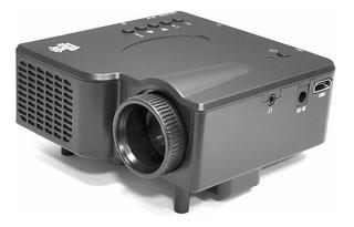 Pyle Mini Proyector Prjg45 Portatil 40 Lumens Hdmi Av Vga