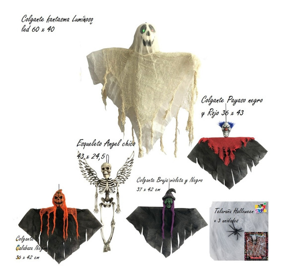 Party Store - Combo Cod.001 - Halloween Cotillon Decoracion