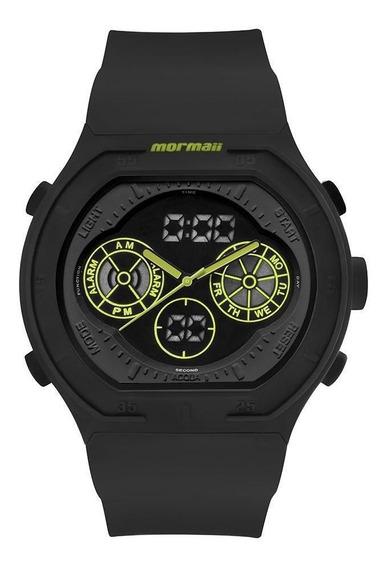 Relógio Mormaii Masculino Lumi Preto Mo160323ba8v