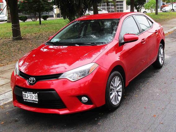 Toyota Corolla Le 2014 Color Rojo