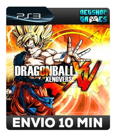 Dragon Ball Xenoverse Xv - Psn Ps3 - Envio Imediato