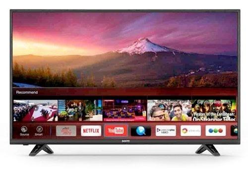 Smart Tv 50 Sanyo Full Hd Usb Hdmi Lce50sf8100 Novogar